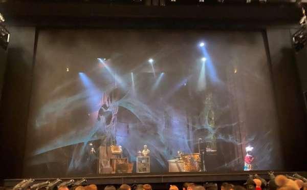 Cadillac Palace Theater, secção: Orchestra C, fila: G, lugar: 108