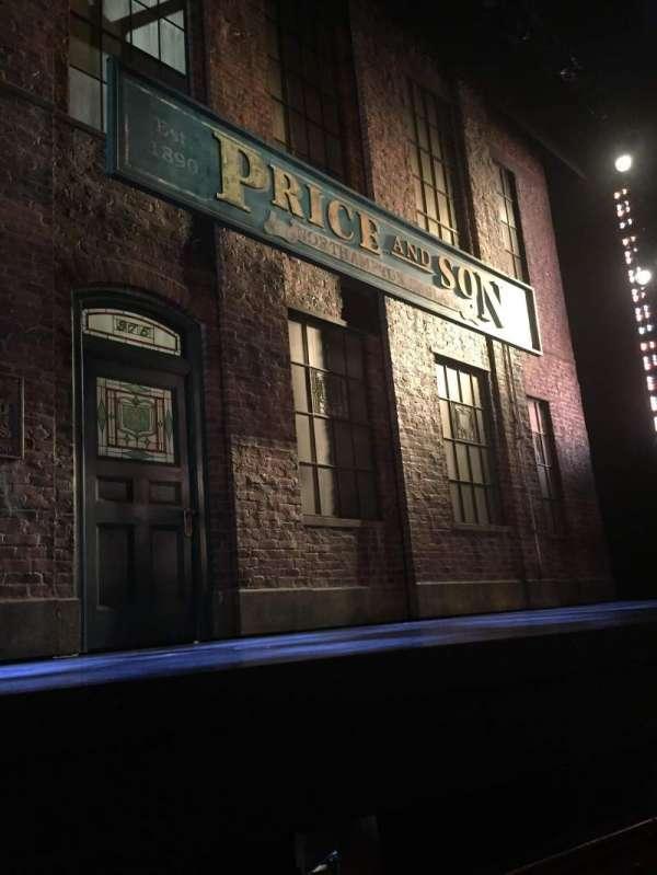 Al Hirschfeld Theatre, secção: Orchestra L, fila: C, lugar: 5