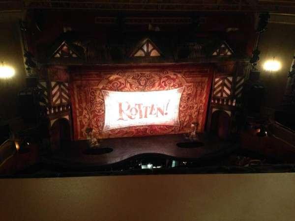 St. James Theatre, secção: Balcc, fila: A, lugar: 113
