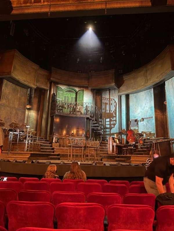 Walter Kerr Theatre, secção: Orchestra C, fila: J, lugar: 107