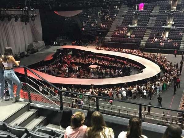 AccorHotels Arena, secção: Balcon P, fila: 86, lugar: 01