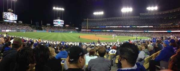 Dodger Stadium, secção: 33FD, fila: P, lugar: 2