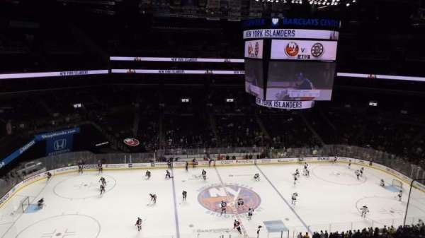 Barclays Center, secção: 226, fila: 3, lugar: 1