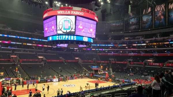 Staples Center, secção: PR16, fila: 2, lugar: 6