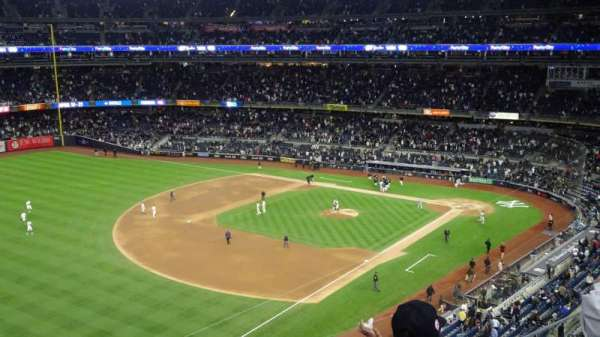 Yankee Stadium, secção: 329, fila: 3, lugar: 22