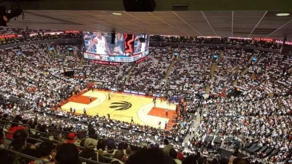 Scotiabank Arena, secção: 307, fila: 17, lugar: 15