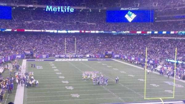 MetLife Stadium, secção: 228a, fila: 21, lugar: 7