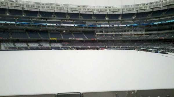 Yankee Stadium, secção: 136, fila: 22, lugar: 1