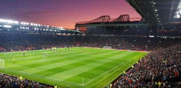 Old Trafford, secção: E239, fila: 22, lugar: 6