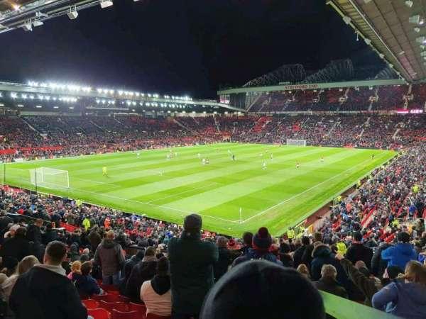 Old Trafford, secção: E239, fila: 22, lugar: 7