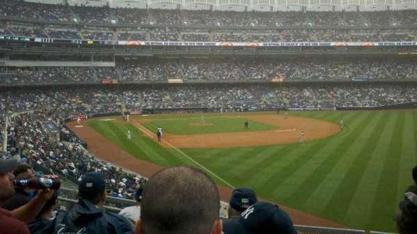 Yankee Stadium, secção: 209, fila: 5, lugar: 6
