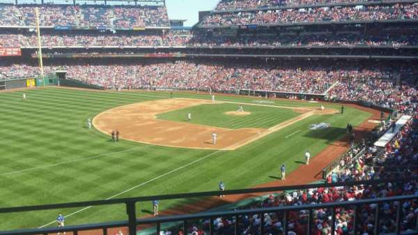Citizens Bank Park, secção: 235, fila: 2, lugar: 8