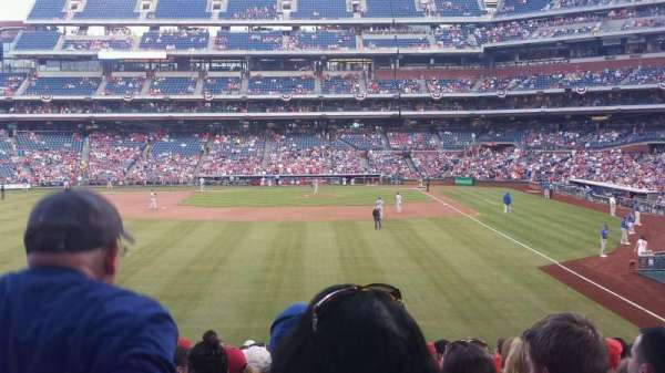 Citizens Bank Park, secção: 142, fila: 19, lugar: 8