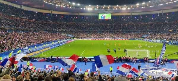 Stade de France, secção: K4, fila: 27, lugar: 22