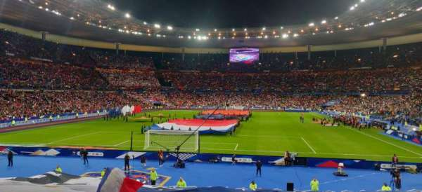 Stade de France, secção: L13, fila: 25, lugar: 6