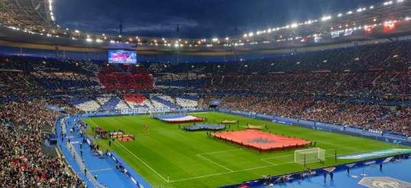 Stade de France, secção: Y1, fila: 46, lugar: 3