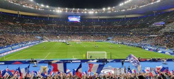 Stade de France, secção: K4, fila: 30, lugar: 30