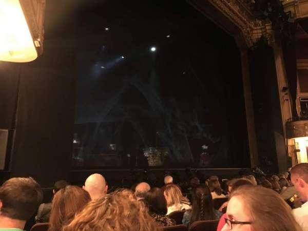 Hippodrome Theatre, secção: Left Orchestra, fila: H, lugar: 13 and 15