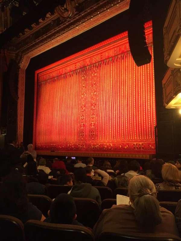 Hippodrome Theatre, secção: Right orchestra, fila: M, lugar: 20 and 22