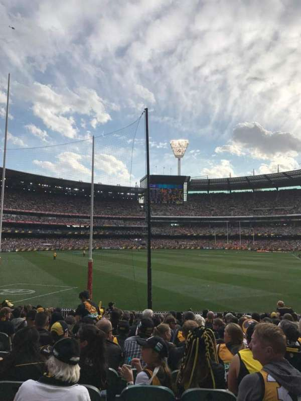 Melbourne Cricket Ground, secção: M1, fila: Q, lugar: 14