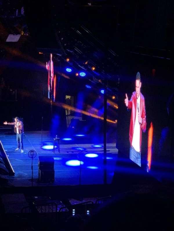Madison Square Garden, secção: 109, fila: 18, lugar: 7