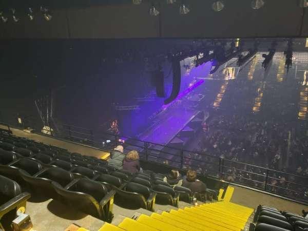 Royal Farms Arena, secção: 309, fila: K, lugar: 17