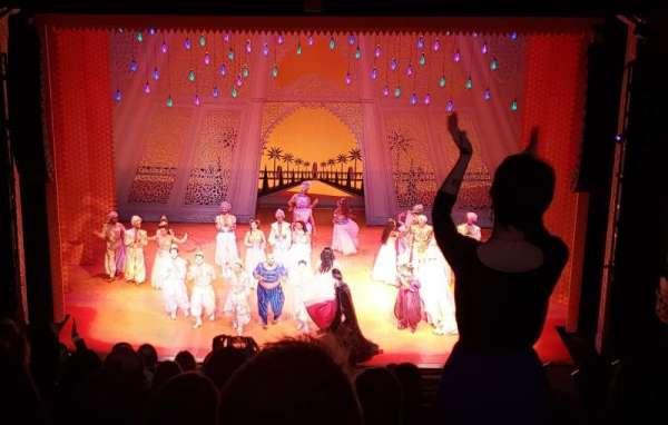 Hippodrome Theatre, secção: Center Middle Balcony, fila: L, lugar: 310