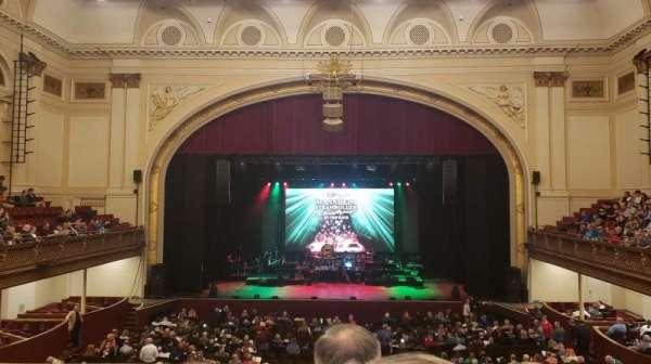 Modell Performing Arts Center, secção: Dress Circle, fila: E, lugar: 24