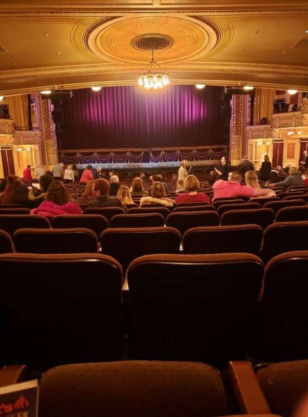 Hippodrome Theatre, secção: Center Orchestra, fila: CC , lugar: 108-109