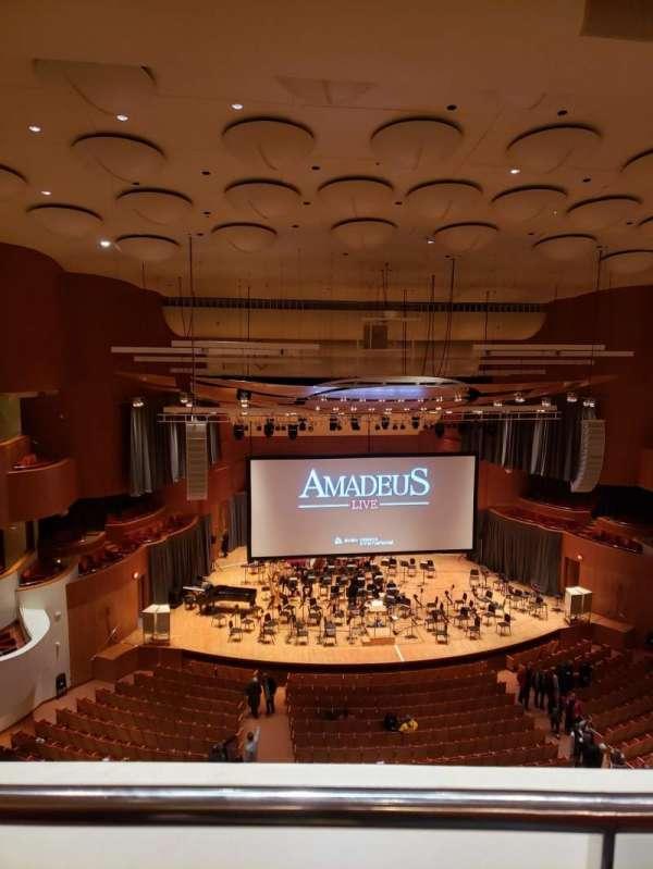 Joseph Meyerhoff Symphony Hall, secção: Terrace Center Left, fila: A, lugar: 121
