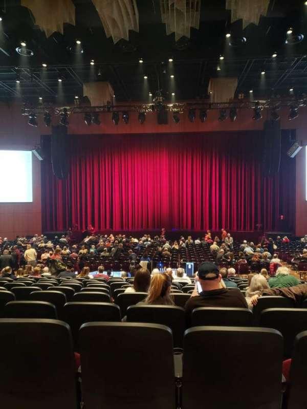 The Theater at MGM National Harbor, secção: 103, fila: P, lugar: 8