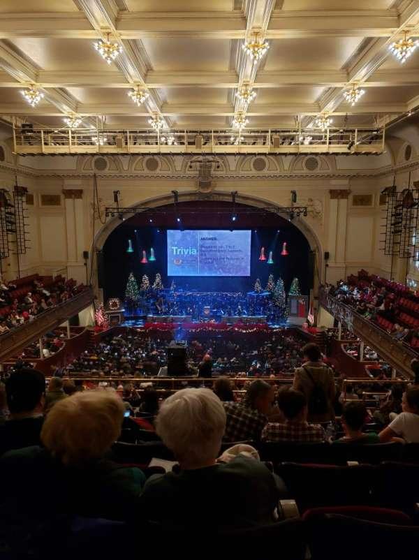 Modell Performing Arts Center, secção: Balcony C, fila: S, lugar: 28