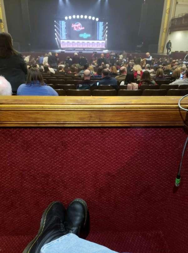 Modell Performing Arts Center, secção: Box CC, fila: A, lugar: 3