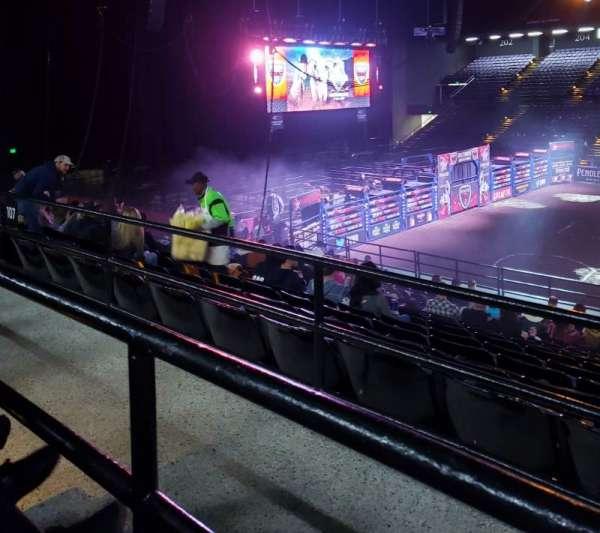 Royal Farms Arena, secção: 209, fila: A, lugar: 13