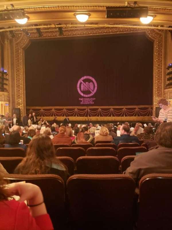 Hippodrome Theatre, secção: Center Orchestra, fila: T, lugar: 115