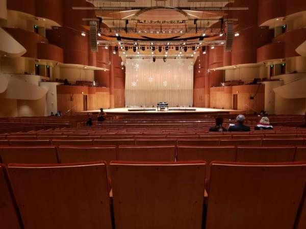 Joseph Meyerhoff Symphony Hall, secção: Center Orchestra, fila: HH, lugar: 108