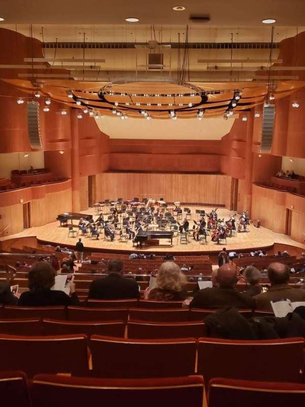Joseph Meyerhoff Symphony Hall, secção: Grand Tier Center RIght, fila: J, lugar: 108