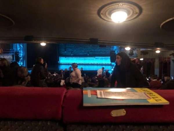 Broadhurst Theatre, secção: Orchestra R, fila: Standing Room, lugar: 10