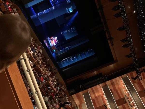 Eccles Theater, secção: 1TL, fila: B, lugar: 126