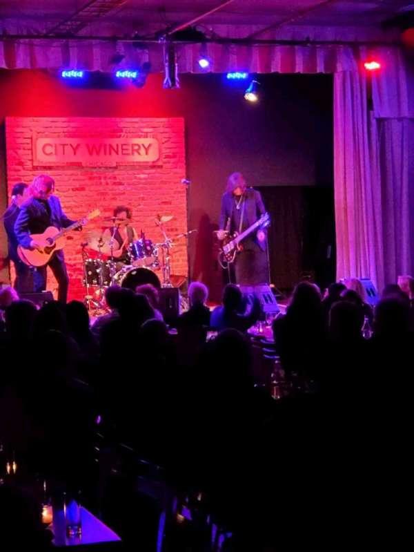 City Winery, secção: VIP, lugar: 510