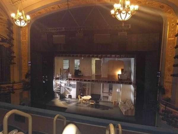 Gerald Schoenfeld Theatre, secção: Mezzanine R, fila: D, lugar: 2