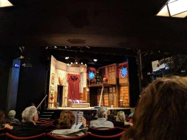 Duchess Theatre, secção: Stalls, fila: M, lugar: 21