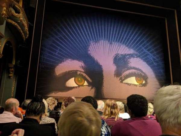 Aldwych Theatre, secção: Stalls, fila: G, lugar: 20