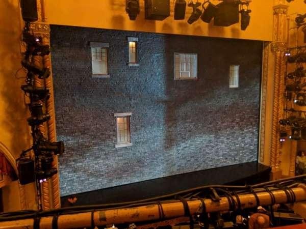 John Golden Theatre, secção: Front Mezzanine L, fila: A, lugar: 119