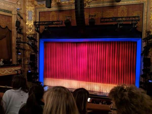 Longacre Theatre, secção: Mezzanine C, fila: C, lugar: 101