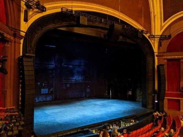 Broadway Theatre - 53rd Street, secção: Front Mezzanine L, fila: A, lugar: 10