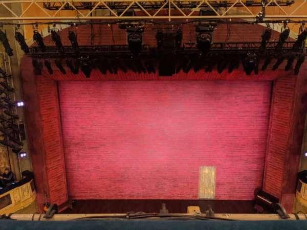 Shubert Theatre, secção: Balcony C, fila: A, lugar: 108