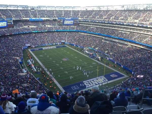 MetLife Stadium, secção: 330, fila: 23, lugar: 6