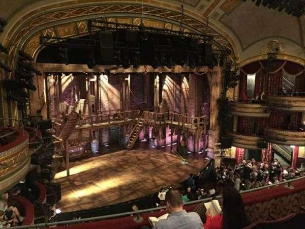 Richard Rodgers Theatre, secção: Front Mezzanine L, fila: D, lugar: 25