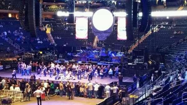 Madison Square Garden, secção: 114, fila: 16, lugar: 14
